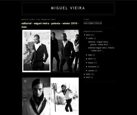 Miguel vieira blog