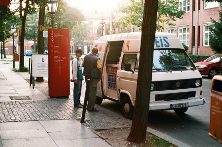 vw transporter ice van